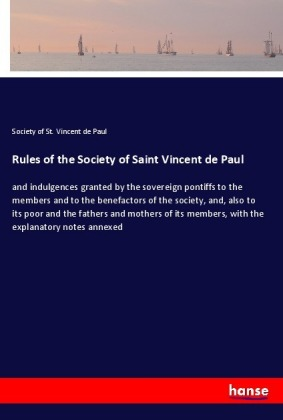 Rules of the Society of Saint Vincent de Paul | Dodax.co.uk