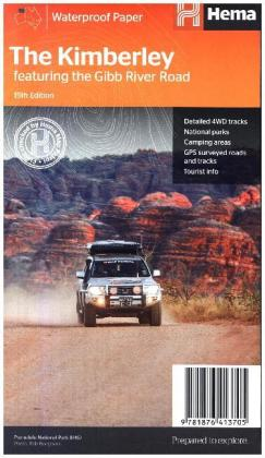 Hema Maps The Kimberley featuring the Gibb River Road | Dodax.ch