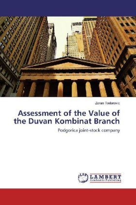 Assessment of the Value of the Duvan Kombinat Branch | Dodax.co.jp