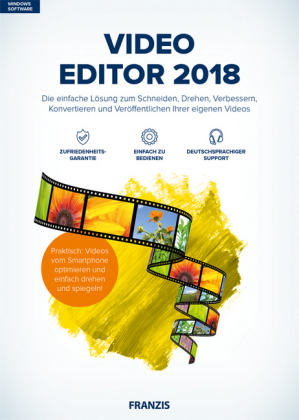 Video Editor 2018, CD-ROM | Dodax.ch
