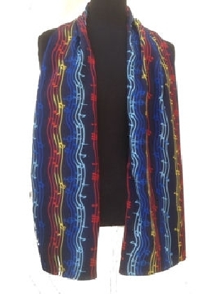 Music Rainbow Scarf - Tie Studio | Dodax.co.uk
