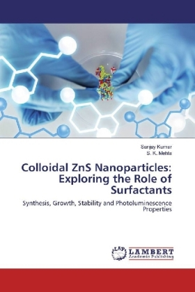Colloidal ZnS Nanoparticles: Exploring the Role of Surfactants | Dodax.co.uk