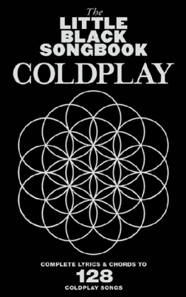 The Little Black Book: Coldplay, for Guitar | Dodax.es