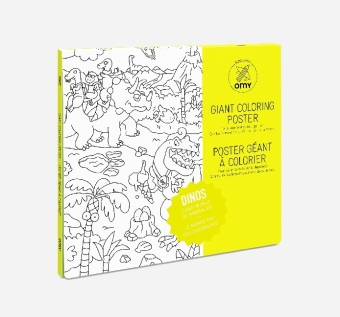 Giant Coloring Poster 70 x 100, Dinos | Dodax.co.uk