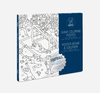 Giant Coloring Poster 70 x 100, Football | Dodax.co.uk