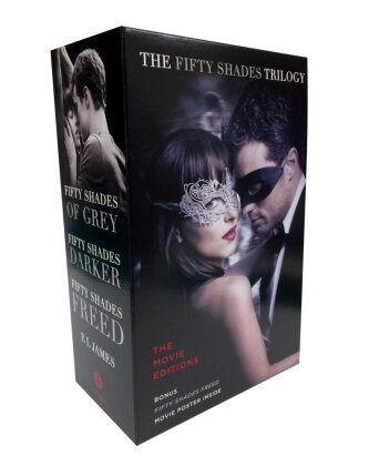 Fifty Shades Trilogy: The Movie Tie-In Editions with Bonus Poster. 3 Bde. | Dodax.nl