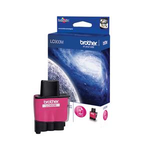 Brother LC900M Magenta ink cartridge | Dodax.co.uk