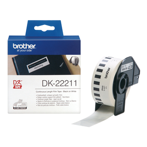 Brother White Continuous Film Tape | Dodax.co.uk