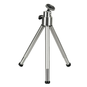 Hama Mini Tripod with Ball Tilt Head, silver Silber Stativ | Dodax.ch