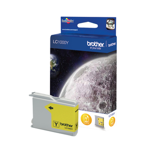 Brother LC1000Y Yellow ink cartridge   Dodax.co.uk