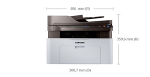 Samsung Xpress SL-M2070FW 1200 x 1200DPI Laser A4 20ppm Wi-Fi Black,Grey multifunctional | Dodax.co.uk