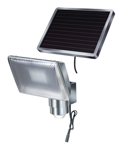Brennenstuhl SOL 80 ALU IP44 Outdoor wall lighting 0.5W LED Aluminio | Dodax.es