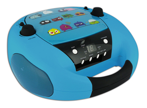 Bigben Interactive CD52OIZO Analog Schwarz, Blau CD-Radio | Dodax.ch