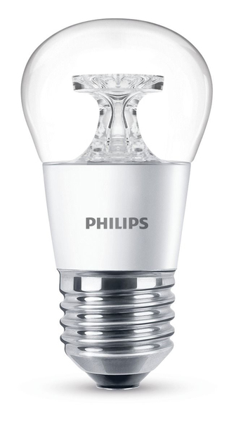 Philips LED Lampe P45 E27 4W (25W) klar ND | Dodax.at