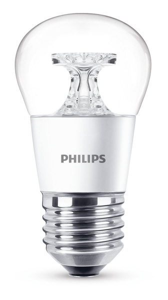 Philips LED Lampe P45 E27 5W (40W) WW kl ND | Dodax.at