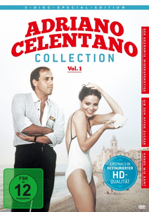 Adriano Celentano - Collection, 3 DVDs. Vol.1 | Dodax.at