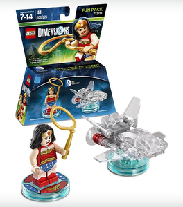Warner Bros - Lego Dimensions Fun Pack DC Super Heroes Wonder Woman (1000546242) | Dodax.ch