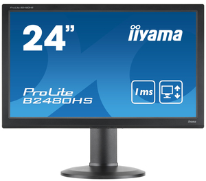 iiyama ProLite B2480HS-B2 23.6Zoll Full HD TN Matt Schwarz Computerbildschirm LED display | Dodax.at
