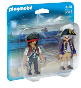 Playmobil - Playmobil Duo Pack Pirat und Soldat (6846) | Dodax.at