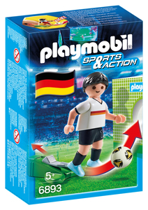 Playmobil - Playmobil Sports and Action Fußballspieler Deutschland (6893) | Dodax.at