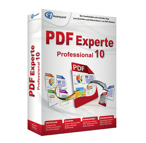 PDF Experte 10 Professional, 1 CD-ROM | Dodax.at