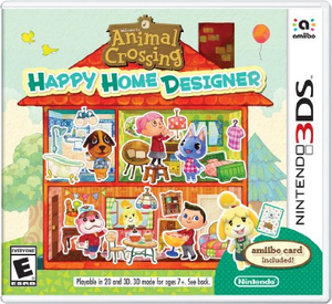 Animal Crossing: Happy Home Designer German Edition with Amiibo Summer Outfit Isabelle Collectible Figure - 3DS | Dodax.es