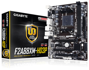 Gigabyte GA-F2A88XM-HD3P (rev. 1.0) A88X Socket FM2+ | Dodax.at