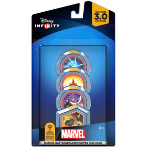 Namco Bandai Games Disney Infinity 3.0 - Marvel Battlegrounds Power Disc Pack video game accessory | Dodax.co.uk