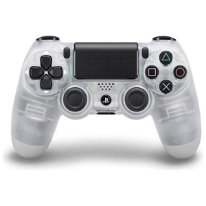 PS4 Dualshock Joypad Wireless Controller - Crystal | Dodax.at