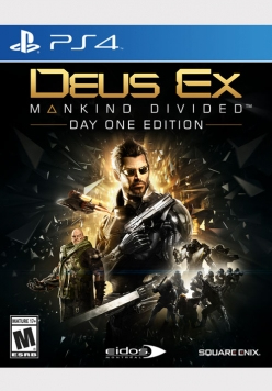 Deus Ex: Mankind Divided - PS4 | Dodax.co.uk