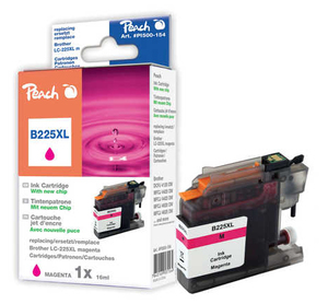 Peach Tinte Brother LC-225XLm magenta | Dodax.de