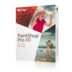 Corel Paint Shop Pro X9, multilingual | Dodax.ch
