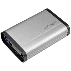 StarTech.com USB 3.0 Capture Gerät für High-Performance DVI Video - 1080 60FPS - Aluminium | Dodax.ch