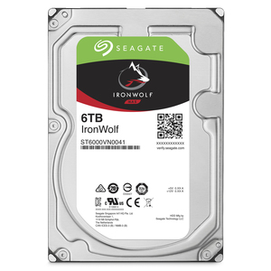 Seagate NAS HDD IronWolf 6TB 6000GB Serial ATA III internal hard drive | Dodax.co.uk