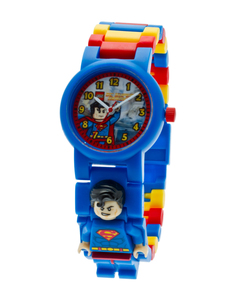 ClicTime Lego Mini Fig Horloge Superman | Dodax.nl