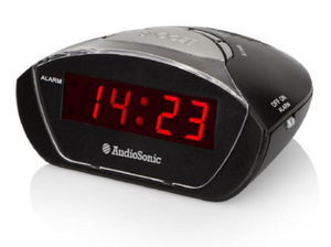 AudioSonic Alarm clock | Dodax.co.uk