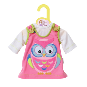Dolly Moda Dress Animal Owl 38-46 cm | Dodax.co.uk
