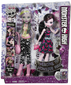 Monster High WADMH 2-er Pack | Dodax.ch