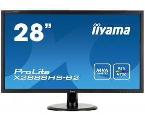"iiyama ProLite X2888HS-B2 28"" Full HD LCD Matt Black computer monitor 