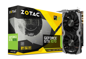Zotac GeForce® GTX 1070 Mini NVIDIA GeForce GTX 1070 8GB | Dodax.at