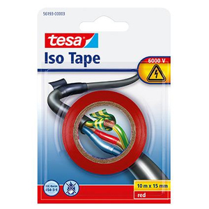 Iso Tape rot 10mx15mm | Dodax.ch