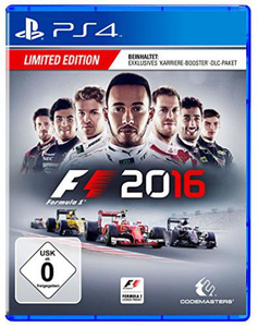 F1 2016, 1 PS4-Blu-Ray Disc (Limited Edition) | Dodax.de