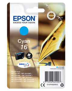 Epson T1622 3.1ml 165pages Cyan ink cartridge | Dodax.ca