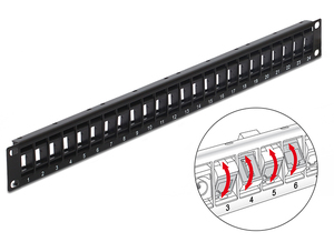 DeLOCK 43340 patch panel | Dodax.com