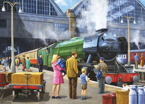 Falcon de luxe Flying Scotsman at Kings Cross station 1000 pieces | Dodax.co.uk