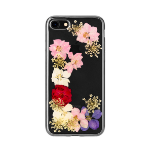 FLAVR iPlate Real Flower Grace Cover Multicolour | Dodax.co.uk