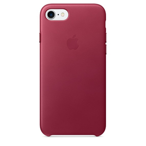 Apple iPhone 7 Leder Case Berry | Dodax.at