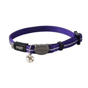 Rogz AlleyCat Lilac Nylon Cat pet collar | Dodax.com