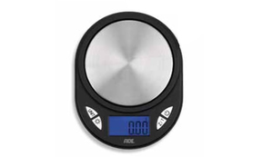 ADE TE 1700 Tabletop Oval Electronic kitchen scale Black,Silver | Dodax.com
