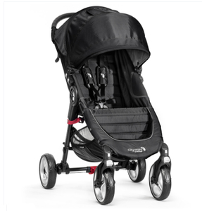 Baby Jogger City Mini 4 Traditioneller Kinderwagen 1Sitz(e) Schwarz | Dodax.ch